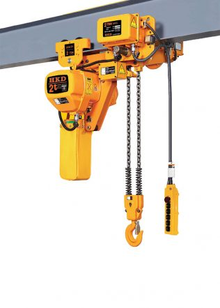 HKD Low Headroom Chain Hoist (Double Speed, Three Phase) – HKDSL0202SD