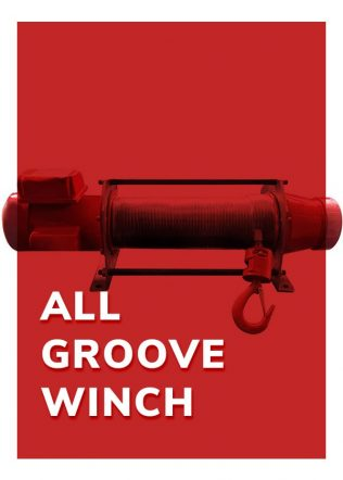 Grooved Winch (Single Phase)