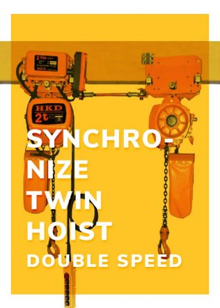 Synchronize Twin-Hoist (Double Speed)