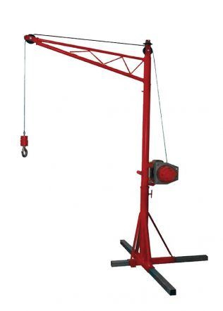 HKD Portable Crane with Drum Winch (Single Phase) – HKD-30-210SL