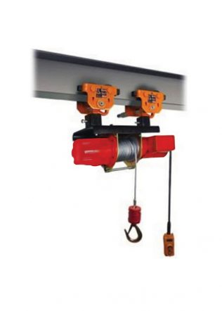 HKD Monorail Drum Winch with Plain Trolley (Single Phase) – HKD-60-202S