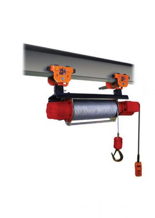 HKD Monorail Grooved Winch with Plain Trolley (3 Phase) – HKD-60-510